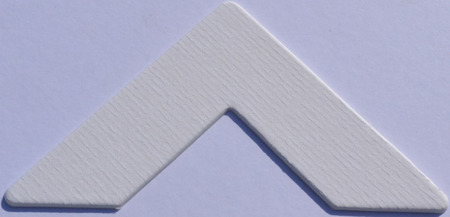 973 Iced White Passe-Partout (paspartu) karton dekoracyjny Slater Harrison