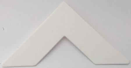 891 Simply White Passe-Partout (paspartu) karton dekoracyjny Slater Harrison