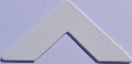 Colourmount 3973 Iced White Passe-Partout (paspartu) karton dekoracyjny Slater Harrison