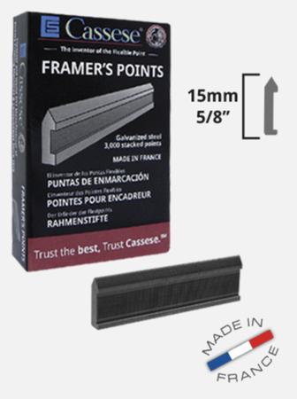 Framers Points - Ładunki ramiarskie twarde 3000 szt. Cassese