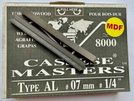 S11MDF - Klamry AL 7mm do MDF firmy Cassese