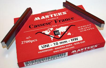 S20XS - Klamry UNI 10 mm  do twardego drewna firmy Cassese